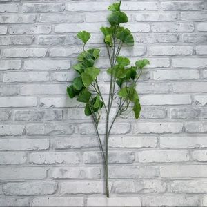 """Threshold Accents - Threshold 28"""" Artificial Ginkgo Stem - Set of 4"""